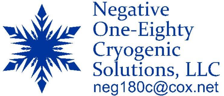 Negative One-Eighty Cryogenic Solutions, LLC. logo